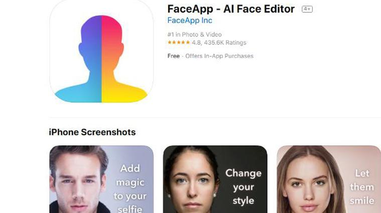 faceapp privacy online web profilo online social media public