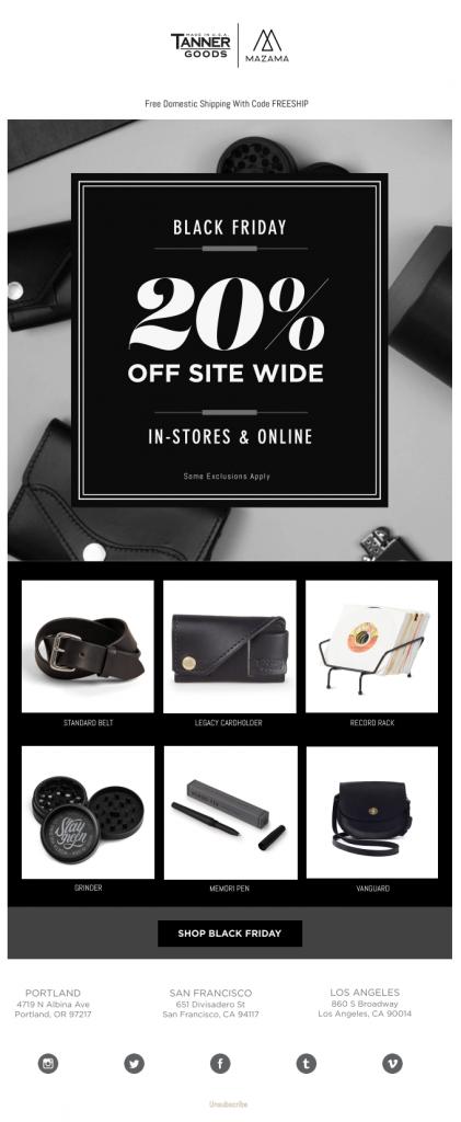 black friday shopping online web social